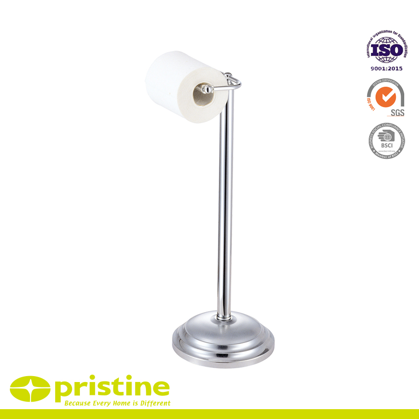 Wunderbar Toilettenpapierrollenhalter Stehen Für Badezimmer   Freistehender  Toilettenpapierhalter Und ...
