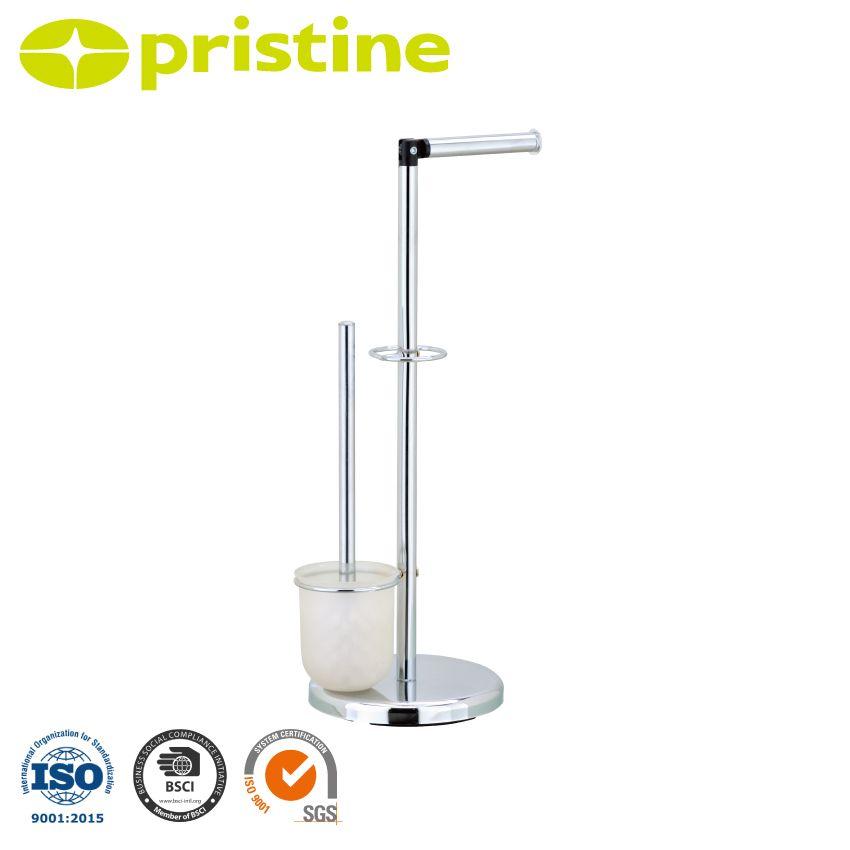 freistehende toilettenb rsten und papierhalter. Black Bedroom Furniture Sets. Home Design Ideas