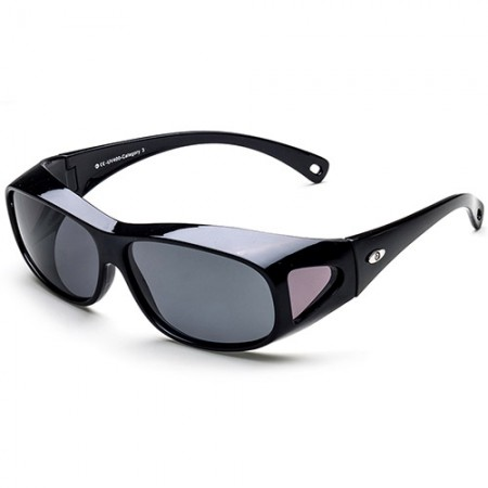 Large Polarized and Black Fit-Overs