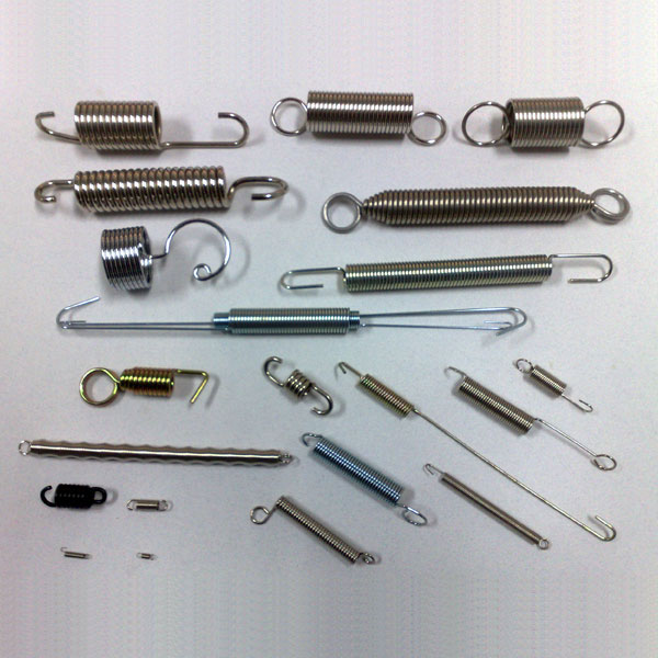 Stainless Steel Extension Springs   Spring Manufacturers - Tech ...