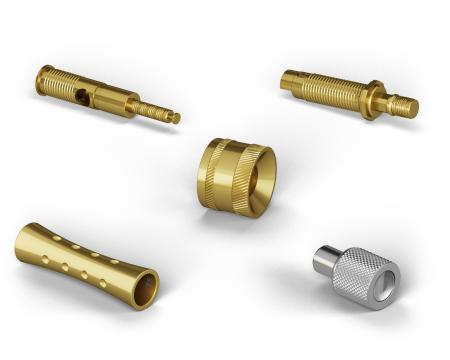CNC Lathes, Precision Turned Parts