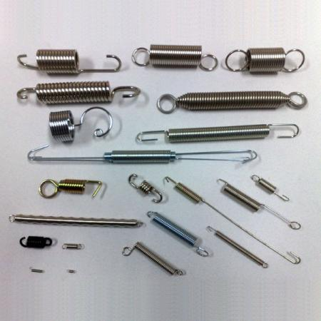 Extension Springs, Stainless Steel Extension Springs