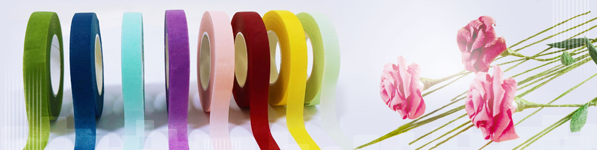 Floral Tape 20 Years Expert in Manufacturing