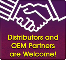 distributors and OEM partners are welcome