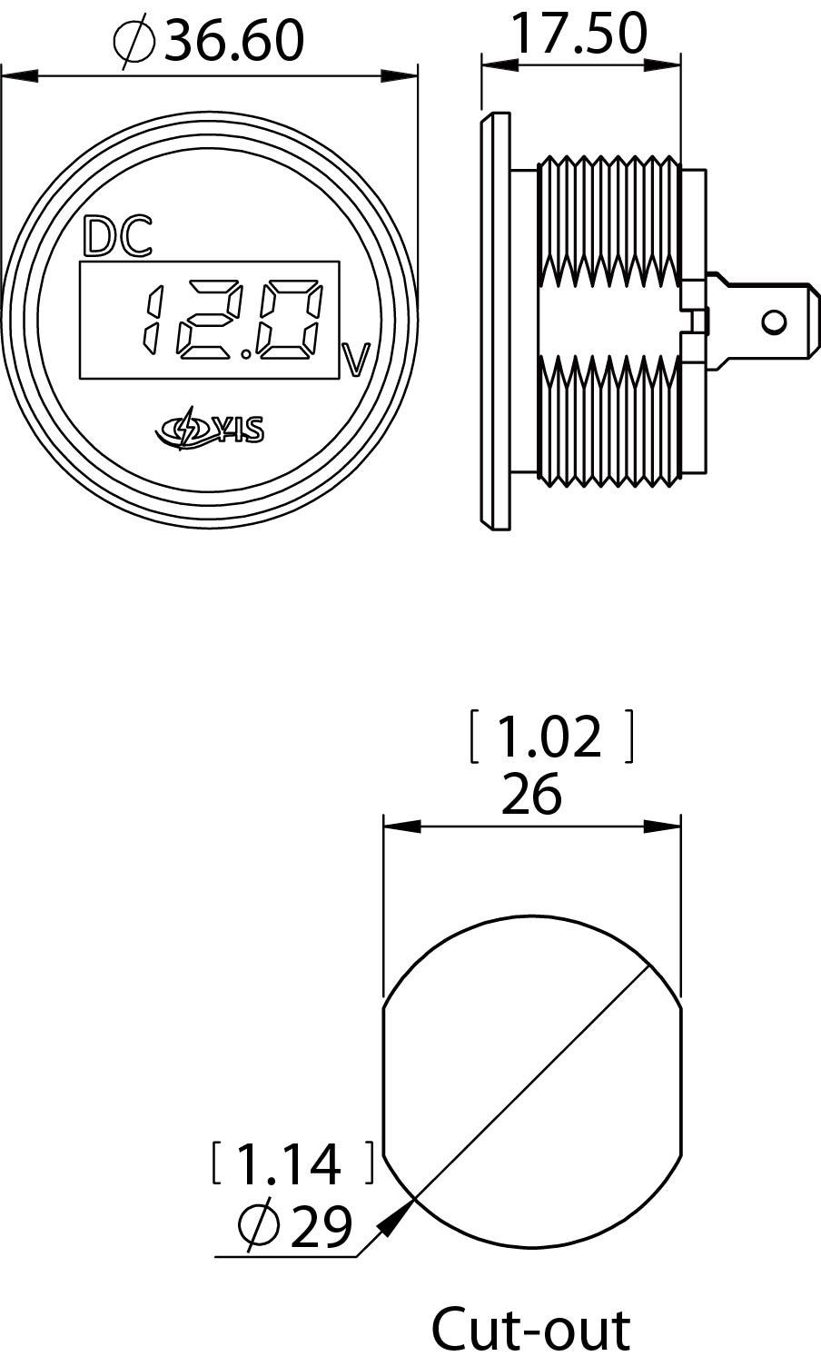 Keystone Trailer Wiring Diagram besides 1245 Interruptor Disyuntor Carling Serie A Toggle Blanco 8a Ac Dc likewise Marine Fuse Block Wiring Diagram additionally Illuminated Round Rocker Switch Wiring Diagram besides Wiring Diagram 2 Pole Contactor. on marine toggle switch panel