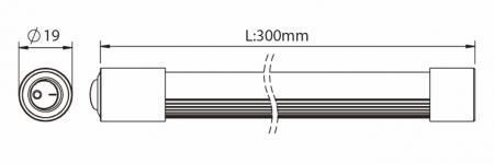 LS201 Product Dimensions