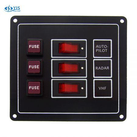 SP1113F-3P Classic Switch Panel
