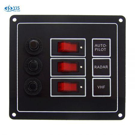 SP1113P-3P Classic Switch Panel