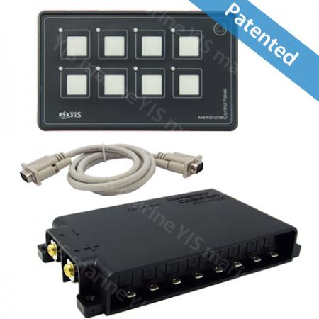 SP5030-8P Membrane Touch Control Panel