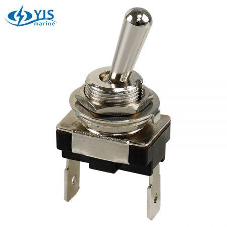 T-1331 Mini Body Brass Toggle Switch