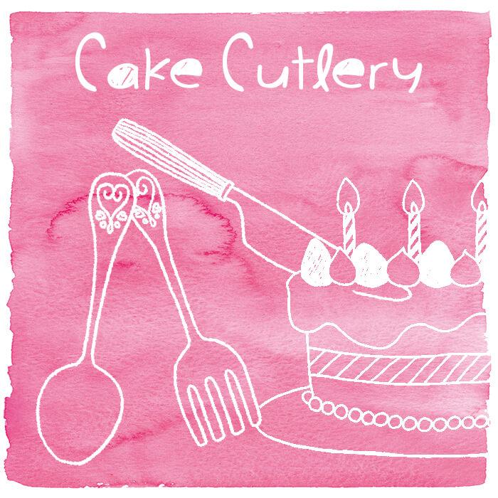 Plastic Cake Cutlery