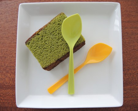 Leaf Spoon For Sponge Cake