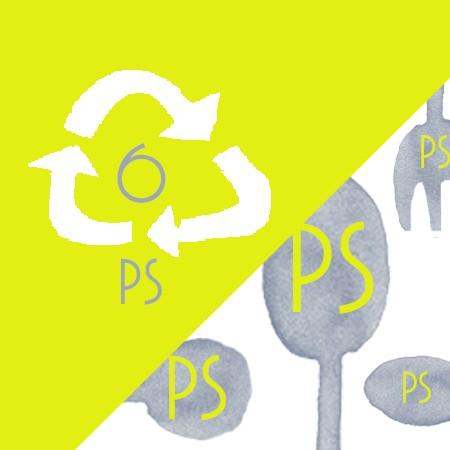 Cubiertos de plástico Postre PS