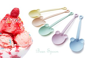 Pastel Bear Spoon