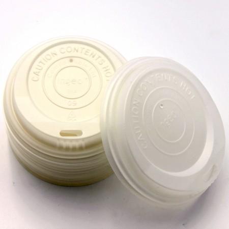 Tapa de la taza de café CPLA - Tapa de plástico