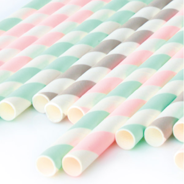 Paper Straw - Color Paper Straw