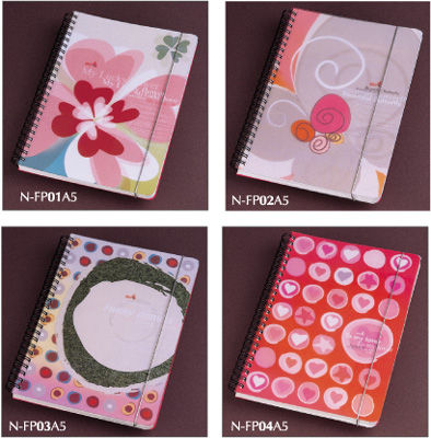 Fashion Pop Design Pp Cover Spiral Notebook N Fp01a5 04a5