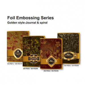 Case bound  Notebook - Foil Embossing Series - Journal & Spiral Notebook - Foil Embossing Series