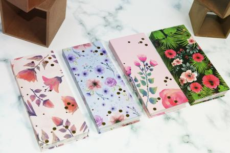 Flowers Hardcover hidden inside journal notepad