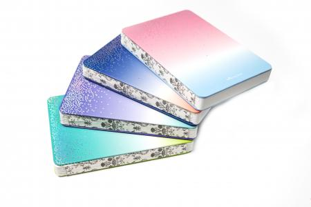 Shinning Star Exposed Spine Notebook