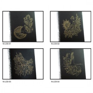 Laser Engraving Spiral Notebook with Cardboard - Laser Engraving Spiral Notebook with Cardboard