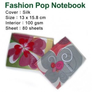 Natural Silk Cover Notebook - Natural Silk Cover Notebook