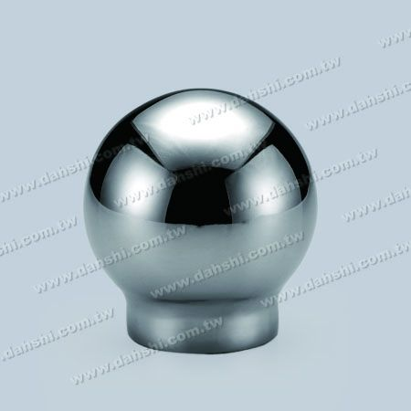 Stainless Steel Round Tube Ball Top Handrail End - Stamping - Stainless Steel Round Tube Ball Top Handrail End - Stamping