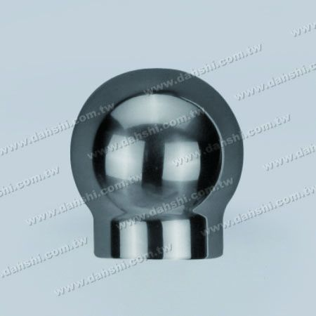 Stainless Steel Round Tube Ball Top Handrail End - Casting - Stainless Steel Round Tube Ball Top Handrail End - Casting