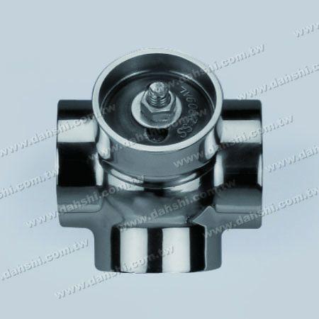 不銹鋼圓管插內135度四通 - 圓型 - 脫蠟製造 - 不銹鋼圓管插內135度四通 - 圓型 - 脫蠟製造