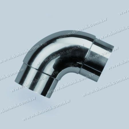 Stainless Steel Round Tube Internal 90degree Elbow Bend