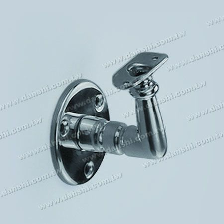 Screw Exposed Bracket - Stainless Steel Round Tube Handrail Wall Bracket - Screw Exposed Bracket - Stainless Steel Round Tube Handrail Wall Bracket