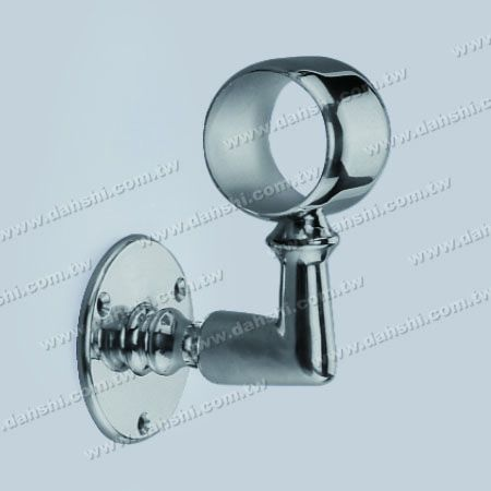 Screw Exposed Bracket - Big Size Internal Round Tube Handrail Wall Bracket - Screw Exposed Bracket - Big Size Internal Round Tube Handrail Wall Bracket