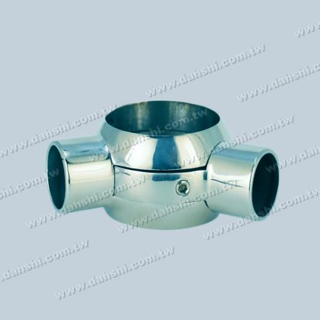 Stainless Steel Tube and Bar Connector 2 Way Out Angle Adjustable - Stainless Steel Tube and Bar Connector 2 Way Out Angle Adjustable