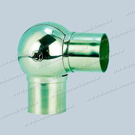 الفولاذ المقاوم للصدأ جولة أنبوب الداخلية الكرة الكوع زاوية قابل للتعديل - الفولاذ المقاوم للصدأ جولة أنبوب الداخلية الكرة الكوع زاوية قابل للتعديل