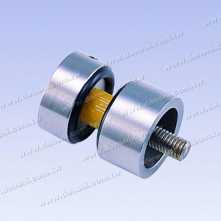 Paslanmaz Çelik Cam Kelepçe 2 Adet Set - Cam Üzerinde Delme Matkap Gerekir - Paslanmaz Çelik Cam Kelepçe 2 Adet Set - Cam Üzerinde Delme Matkap Gerekir