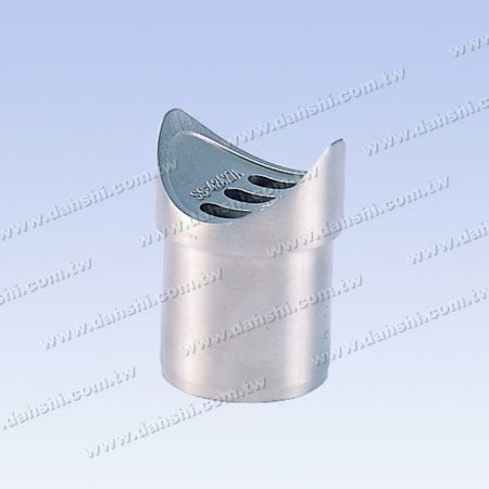 Paslanmaz Çelik Yuvarlak Boru Küpeşte Dik Post Eyer Bağlayıcı - Paslanmaz Çelik Yuvarlak Boru Küpeşte Dik Post Eyer Bağlayıcı