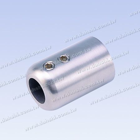 Stainless Steel Tube and Bar Connector Flat Back - Stainless Steel Tube and Bar Connector Flat Back