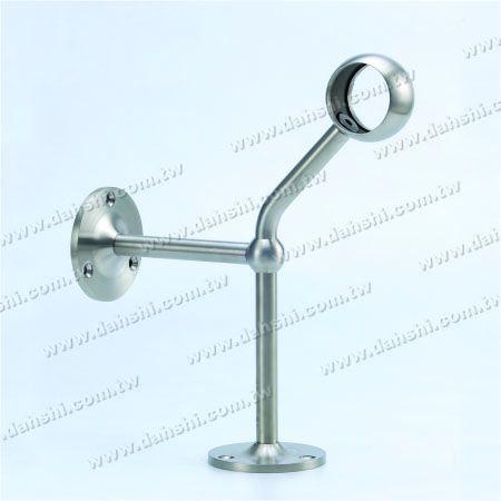 پایه فولادی ضد زنگ پایه دیواری لوله (SS: 424122A) - پایه فولادی ضد زنگ پایه دیواری لوله (SS: 424122A)