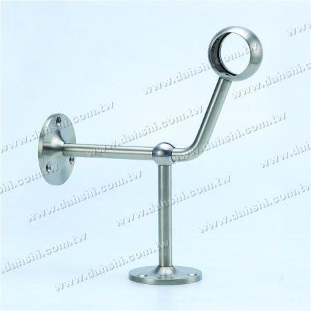 پایه فولادی ضد زنگ پایه دیواری لوله (SS: 424123A) - پایه فولادی ضد زنگ پایه دیواری لوله (SS: 424123A)