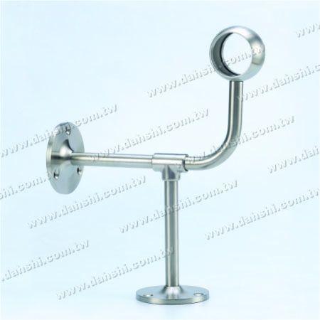 پایه فولادی ضد زنگ پایه دیواری لوله (SS: 424127A) - پایه فولادی ضد زنگ پایه دیواری لوله (SS: 424127A)