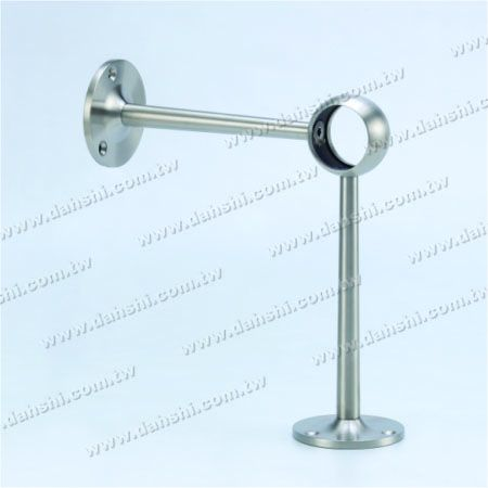 پایه فولادی ضد زنگ پایه دیواری لوله (SS: 424131A) - پایه فولادی ضد زنگ پایه دیواری لوله (SS: 424131A)