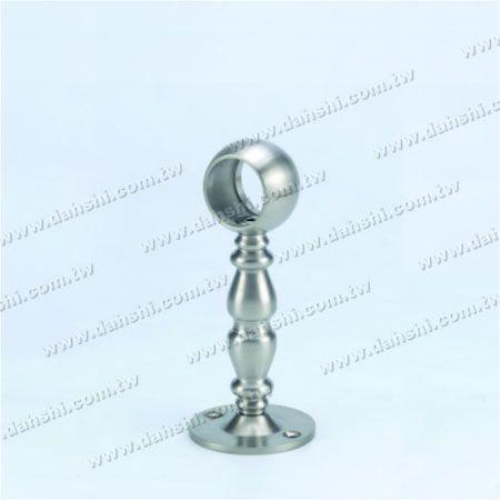 پایه فولادی ضد زنگ پایه دیواری لوله (SS: 424137A) - پایه فولادی ضد زنگ پایه دیواری لوله (SS: 424137A)