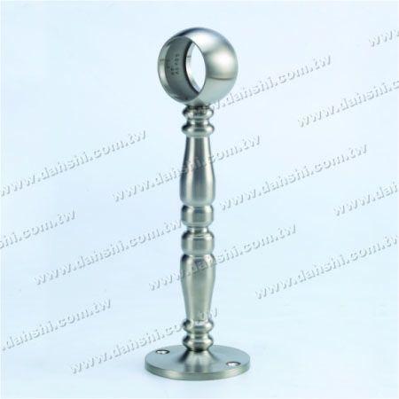 پایه فولادی ضد زنگ پایه دیواری لوله (SS: 424138A) - پایه فولادی ضد زنگ پایه دیواری لوله (SS: 424138A)