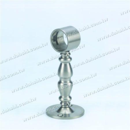 پایه استیل ضد زنگ پایه دیواری لوله (SS: 424139A) - پایه استیل ضد زنگ پایه دیواری لوله (SS: 424139A)