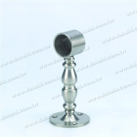 پایه فولادی ضد زنگ پایه دیواری لوله (SS: 424139B) - پایه فولادی ضد زنگ پایه دیواری لوله (SS: 424139B)
