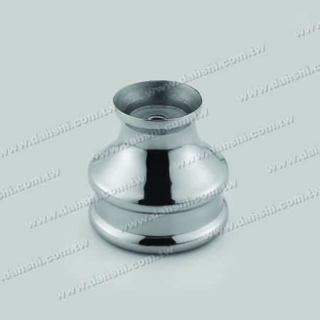 Stainless Steel Accessories can be applied on connecting hollow ball and round tube – external, put on tube - Stainless Steel Accessories can be applied on connecting hollow ball and round tube – external, put on tube