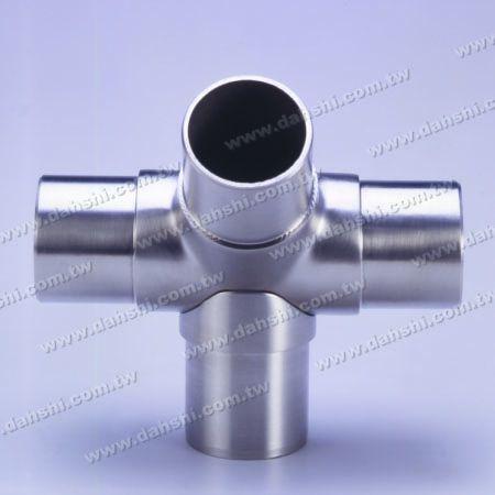 الفولاذ المقاوم للصدأ جولة أنبوب الداخلية 135 درجة موصل 4 مخرج - الفولاذ المقاوم للصدأ جولة أنبوب الداخلية 135 درجة موصل 4 مخرج