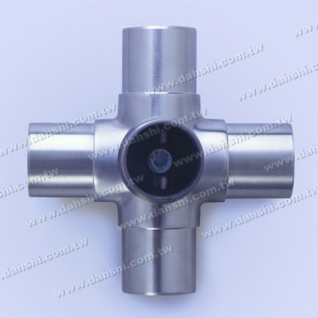 Stainless Steel Round Tube Internal Connector 5 Way Out - Stainless Steel Round Tube Internal Connector 5 Way Out