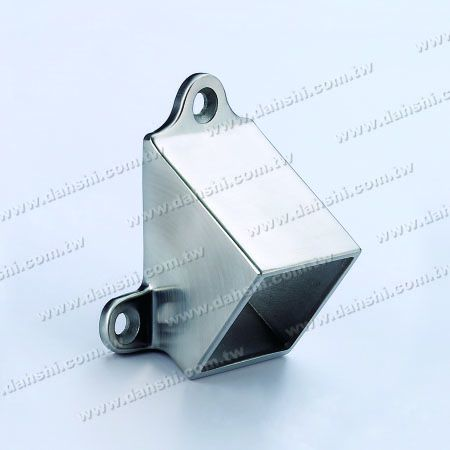 Stainless Steel Square Tube Handrail Wall End - Stainless Steel Square Tube Handrail Wall End