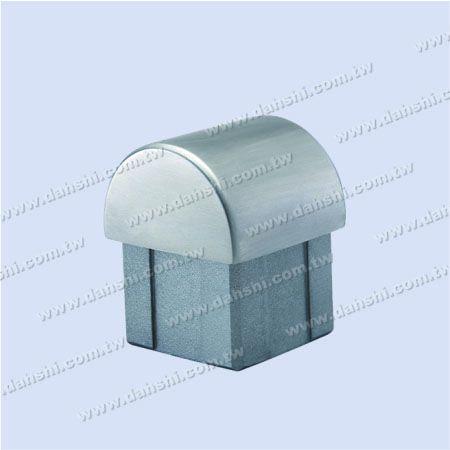 الفولاذ المقاوم للصدأ ساحة أنبوب قبة أعلى نهاية كاب - الفولاذ المقاوم للصدأ ساحة أنبوب قبة أعلى نهاية كاب